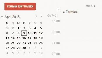Google Calender Options Teaser
